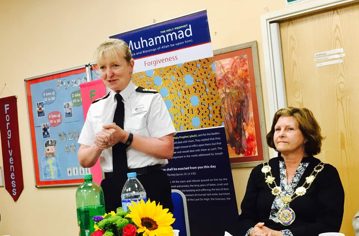 Eid Party and Donation to Police Benevolent Fund