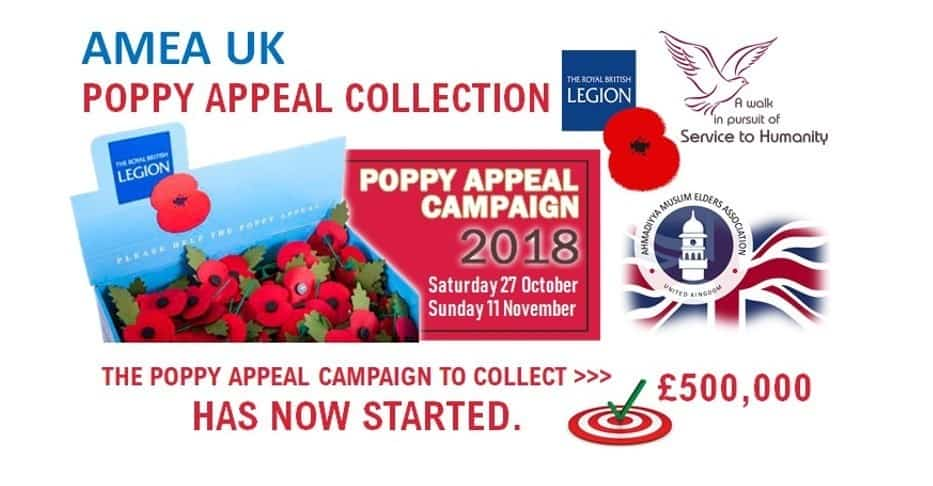 Official Launch of Poppy Appeal 2018