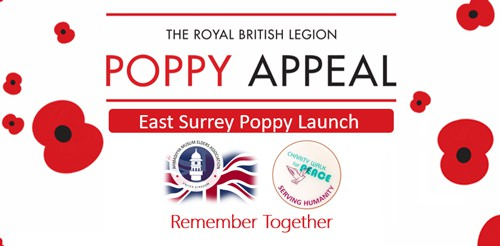 East Surrey Poppy Appeal Launch 2019
